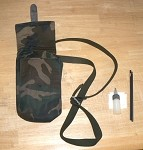 Surplus Croatian UZI Magazine Pouch Camo NEW Holds 4 Mags