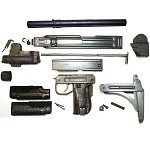 IMI Parts Kit with new 9mm Barrel (Grade A+)